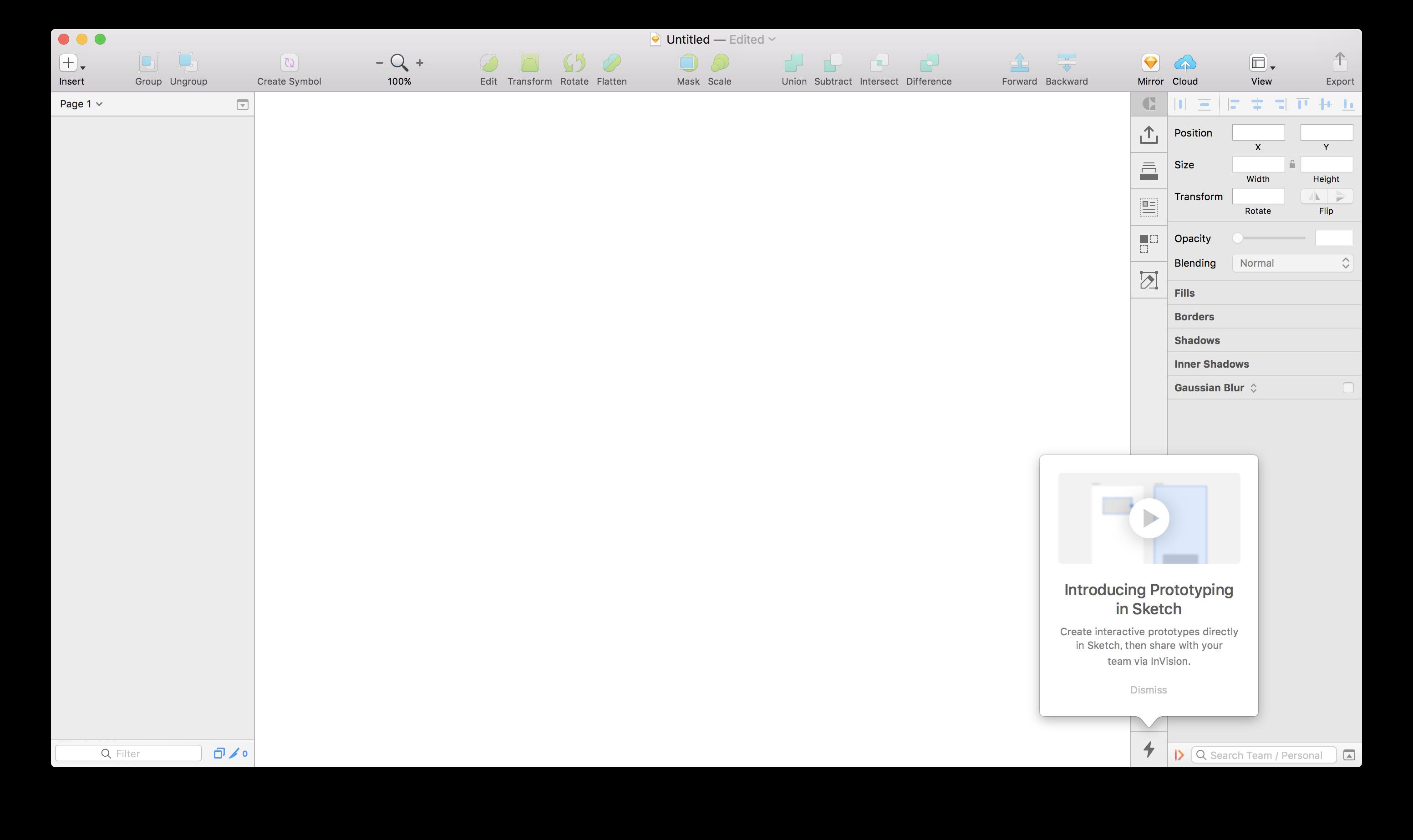 """Á¤ã""""にsketch上でprototypeの作成が可能に ž…ってました Craftバージョンアップデート Technical Creator"""