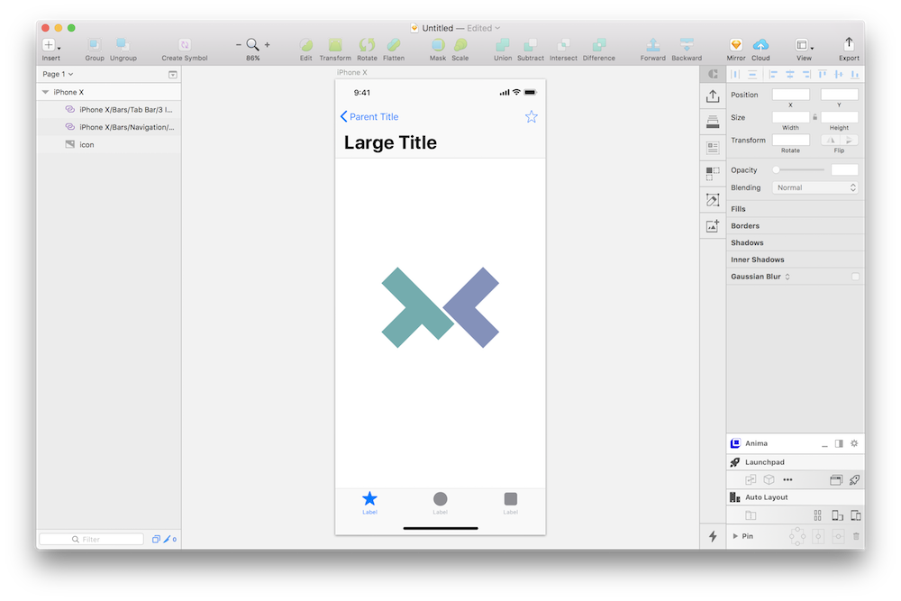 Sketchとinvisionでiphone Xのプロトタイプを作る Technical Creator